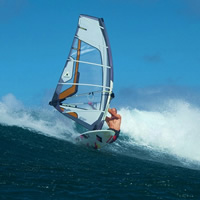 Passion and addiction - Windsurfing